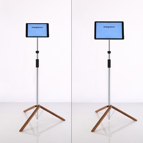 einfacher tablet ständer